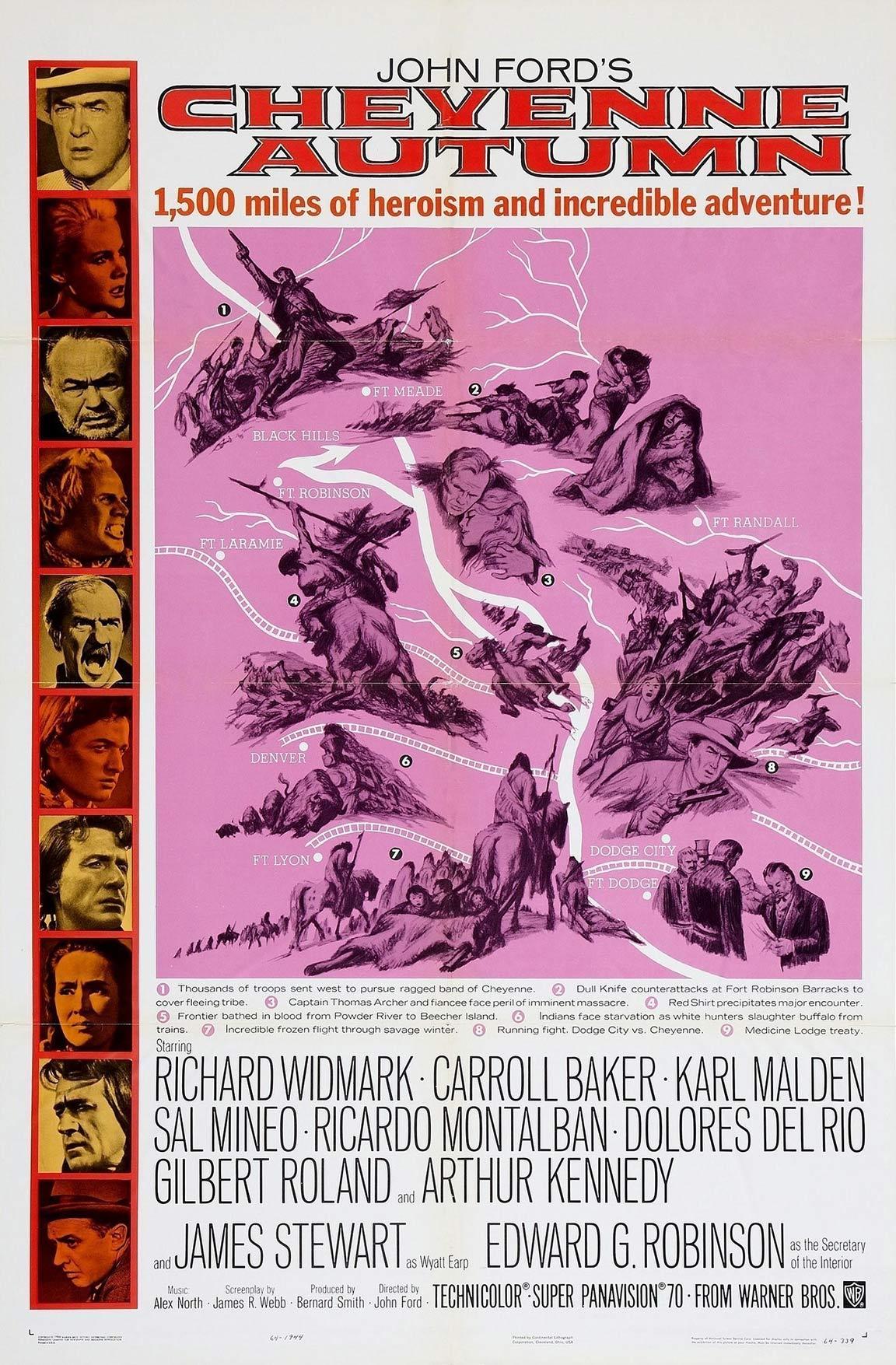 Cheyenne Autumn Poster #1
