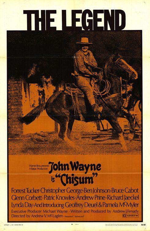 Chisum Poster #1