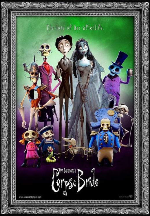 Tim Burton's Corpse Bride Poster #3
