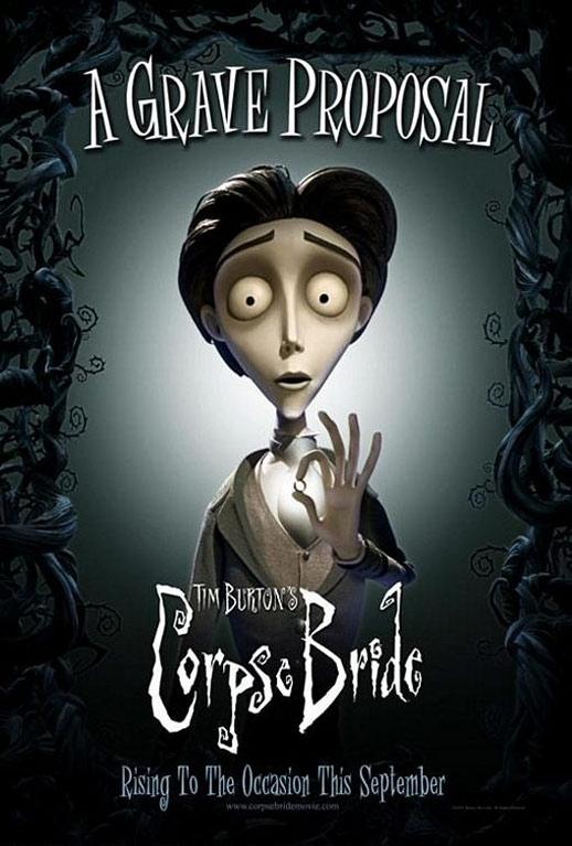 Tim Burton's Corpse Bride Poster #4