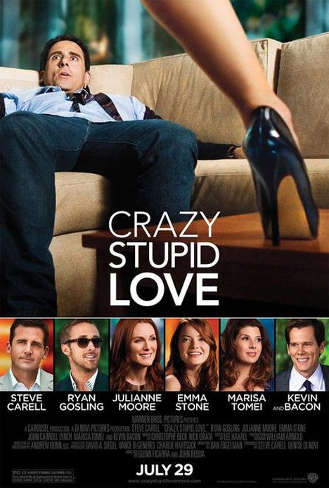Crazy, Stupid, Love Poster #1