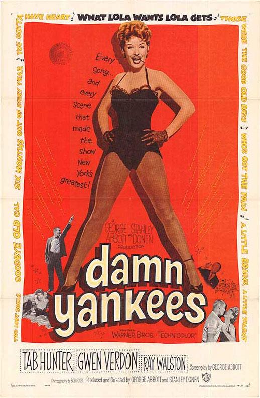 Damn Yankees Poster #1