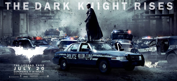 The Dark Knight Rises Poster #12