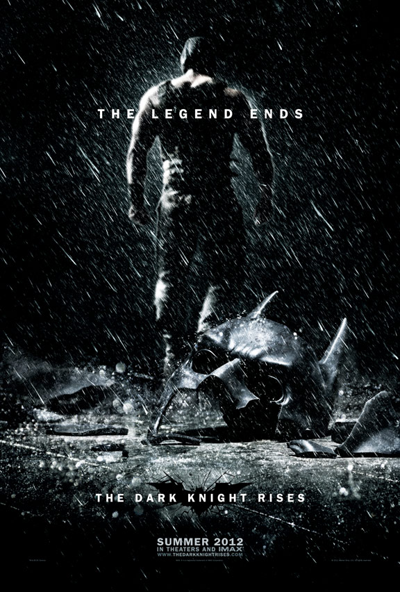 The Dark Knight Rises Poster #2