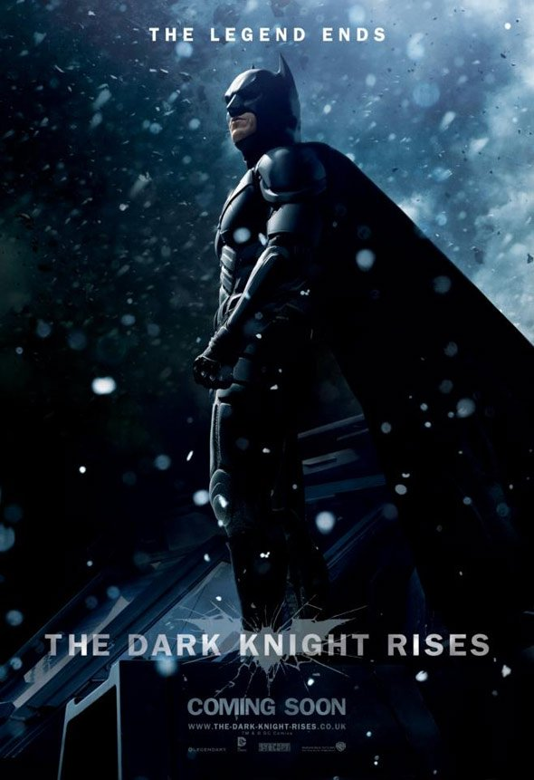 The Dark Knight Rises Poster #8