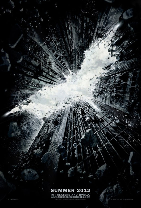 The Dark Knight Rises Poster #1