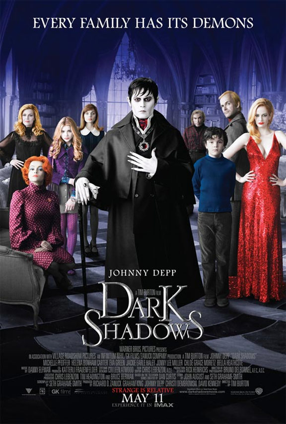 Dark Shadows Poster #1