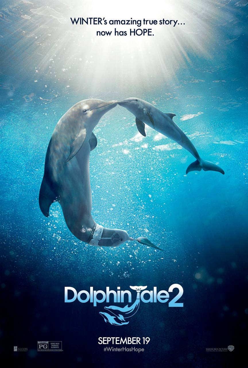 Dolphin Tale 2 Poster #1