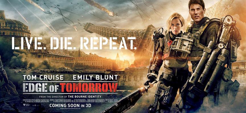 Edge of Tomorrow Poster #11