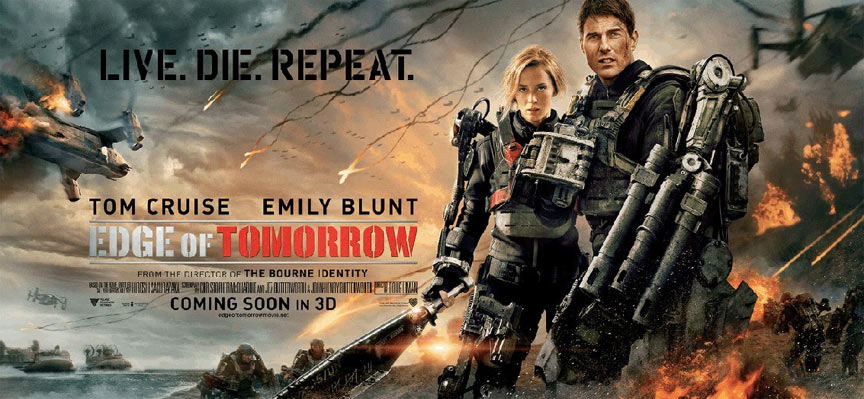 Edge of Tomorrow Poster #13