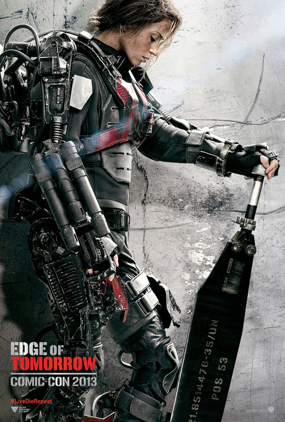 Edge of Tomorrow Poster #2