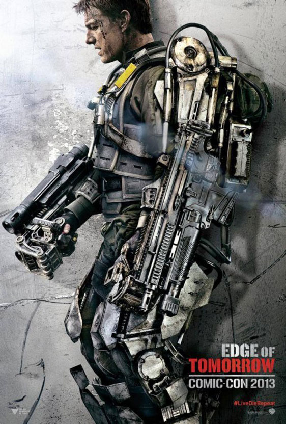 Edge of Tomorrow Poster #3
