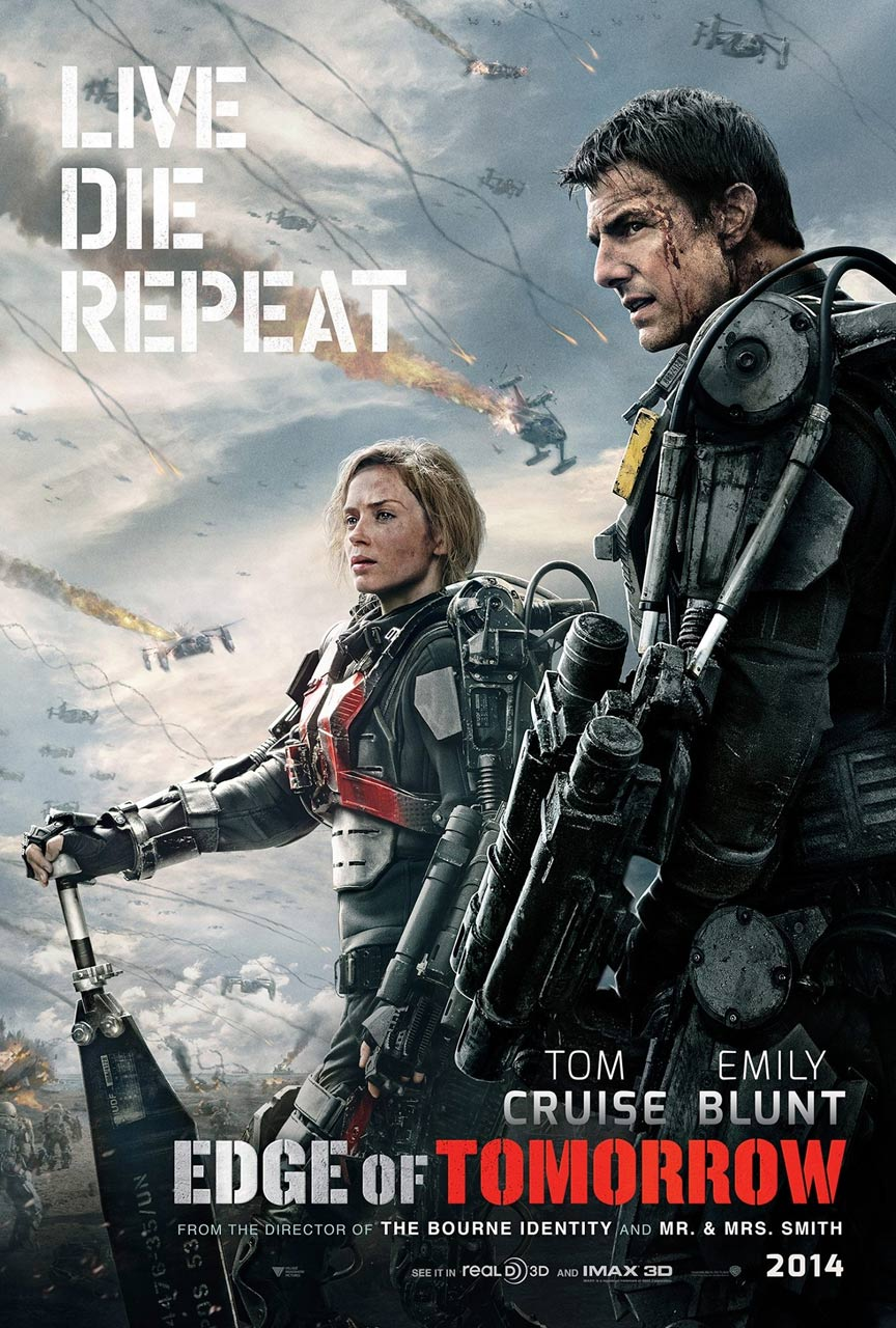Edge of Tomorrow Poster #4