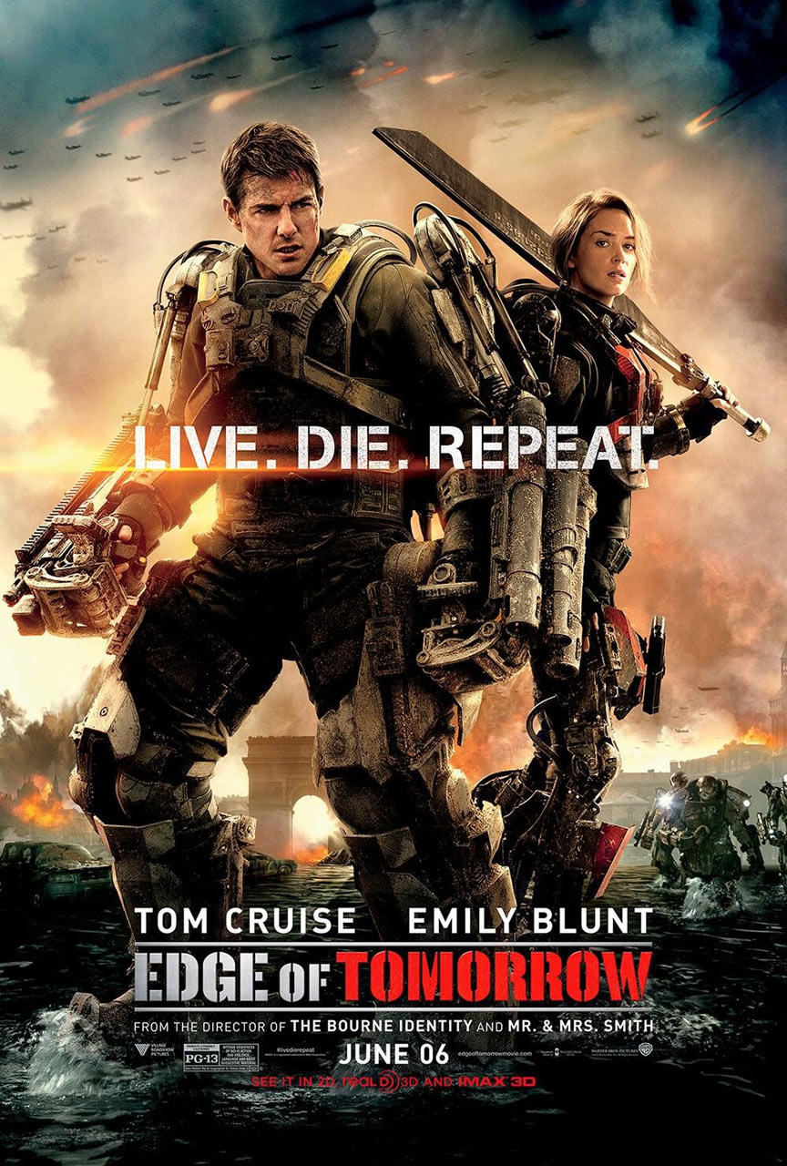 Edge of Tomorrow Poster #5