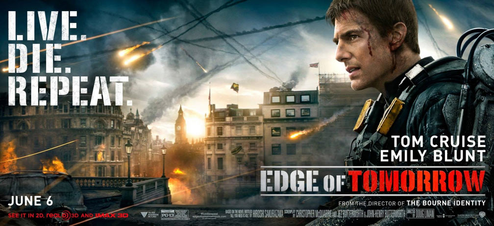 Edge of Tomorrow Poster #7