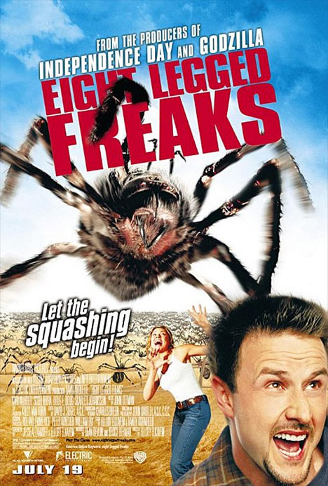 Eight Legged Freaks Poster #1