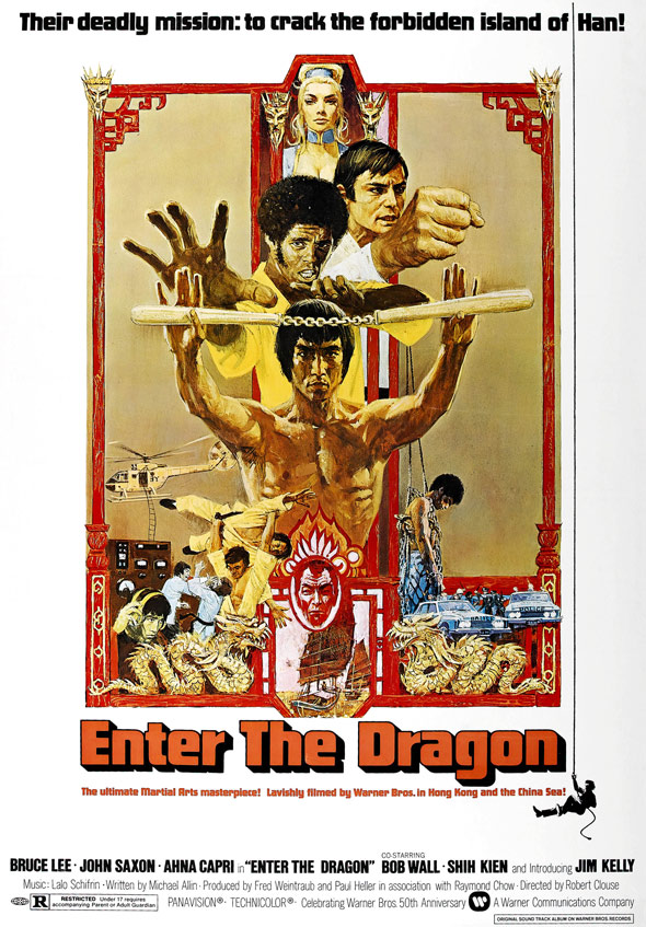 Enter the Dragon Poster #1