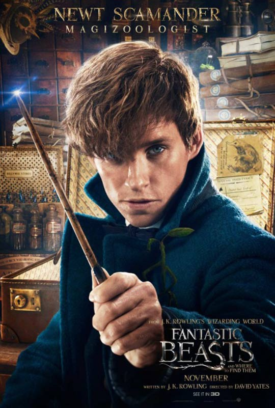Fantastic Beasts and Where to Find Them Poster #11