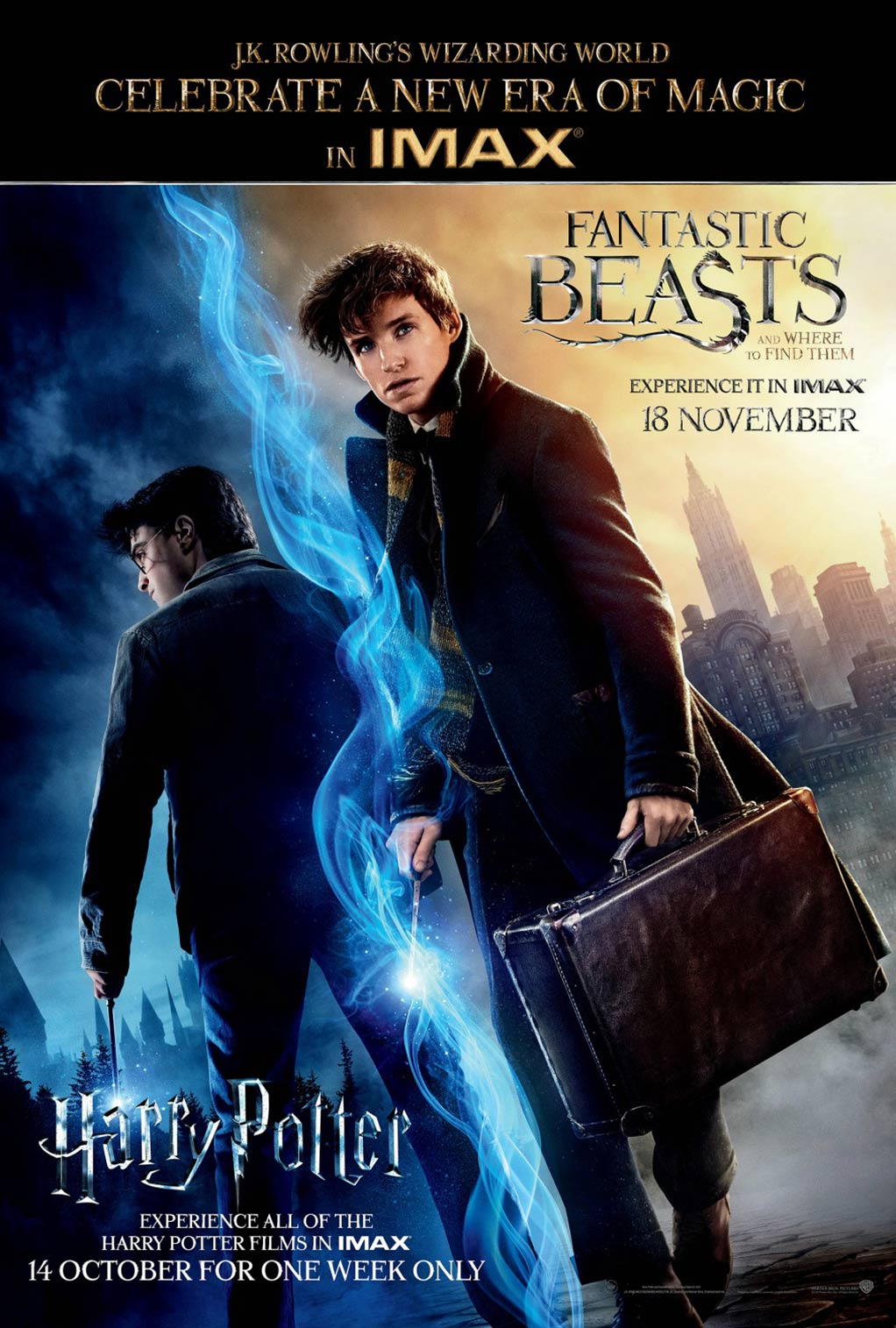 Fantastic Beasts and Where to Find Them Poster #15