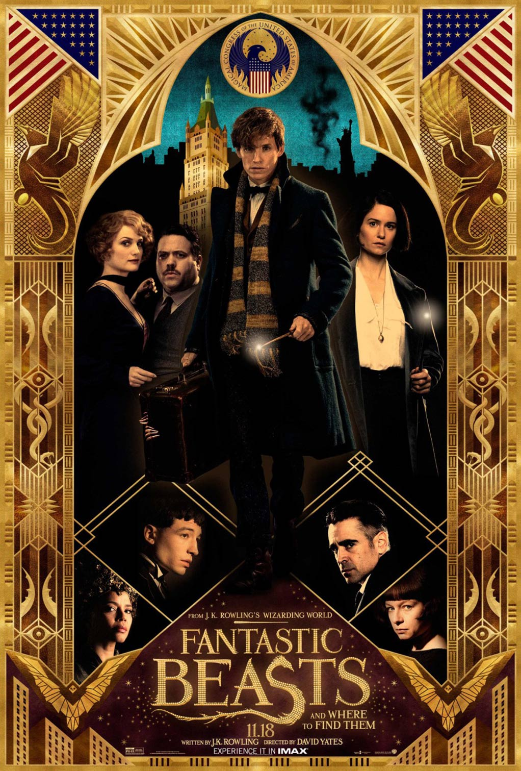Fantastic Beasts and Where to Find Them Poster #16