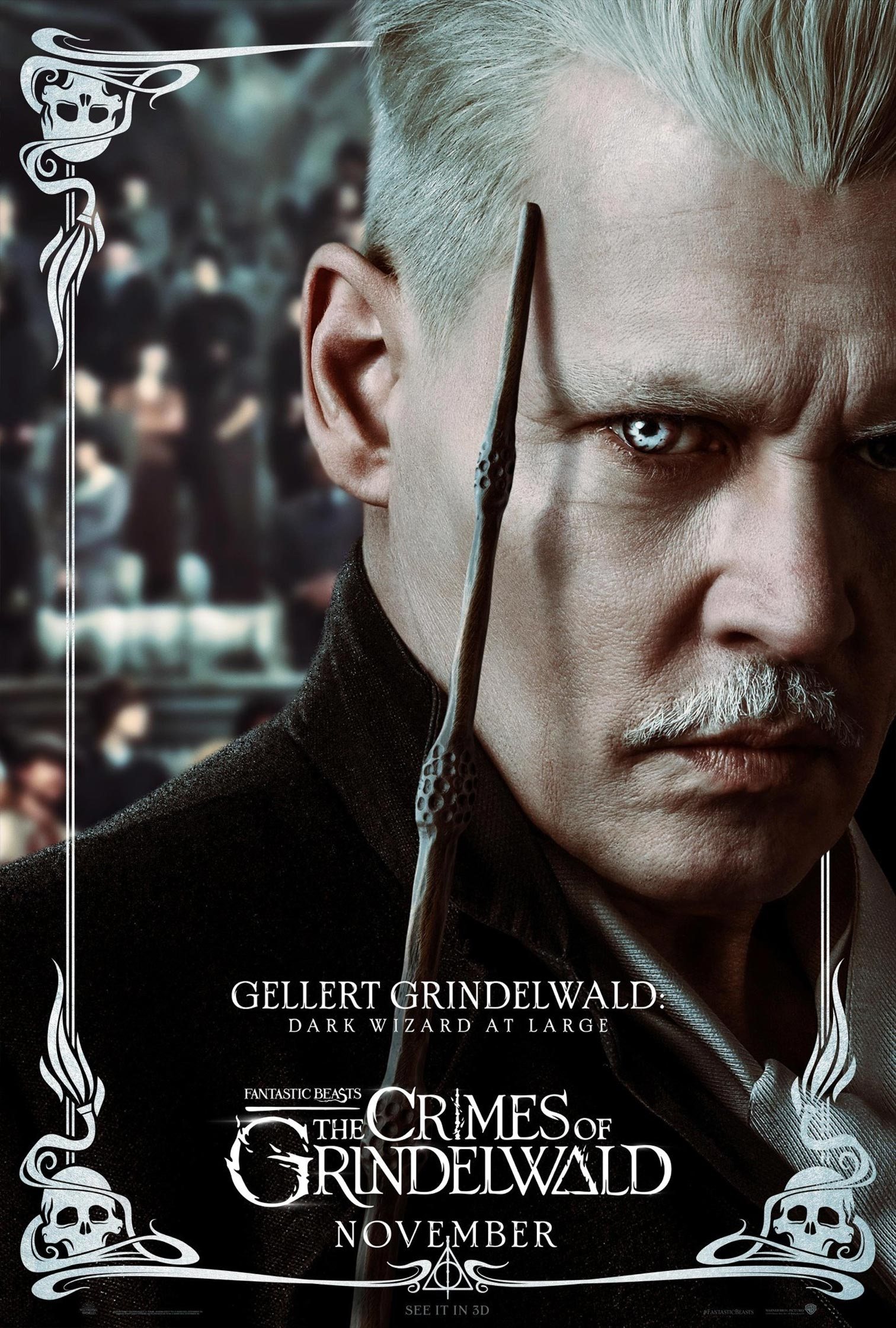 Fantastic Beasts: The Crimes of Grindelwald Poster #11