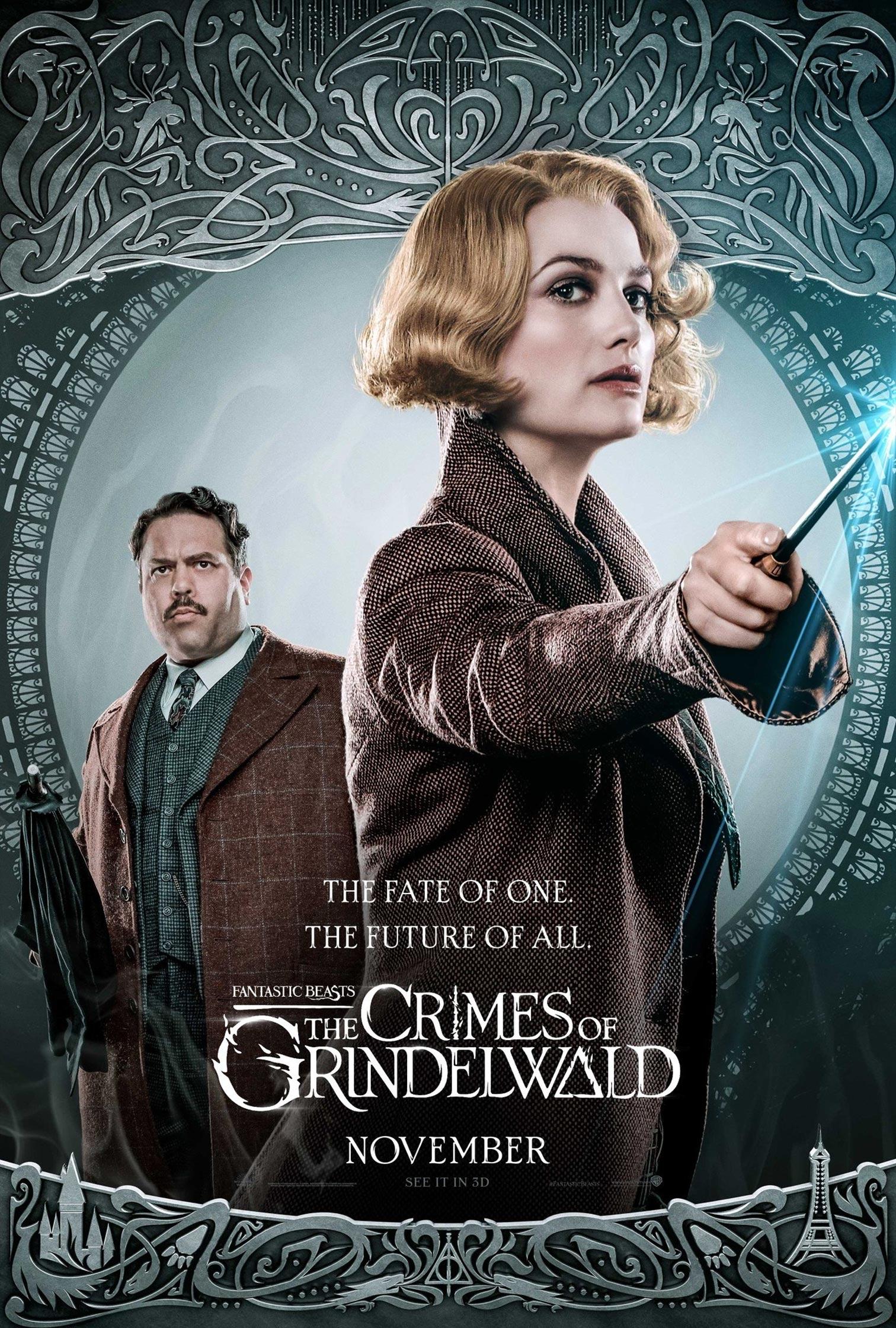 Fantastic Beasts: The Crimes of Grindelwald Poster #16