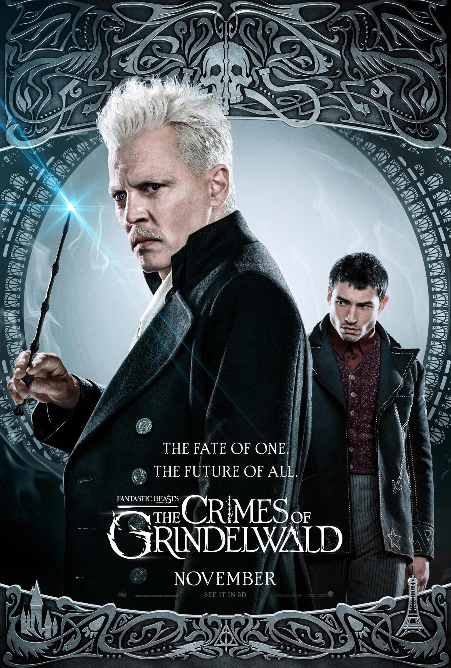 Fantastic Beasts: The Crimes of Grindelwald Poster #17