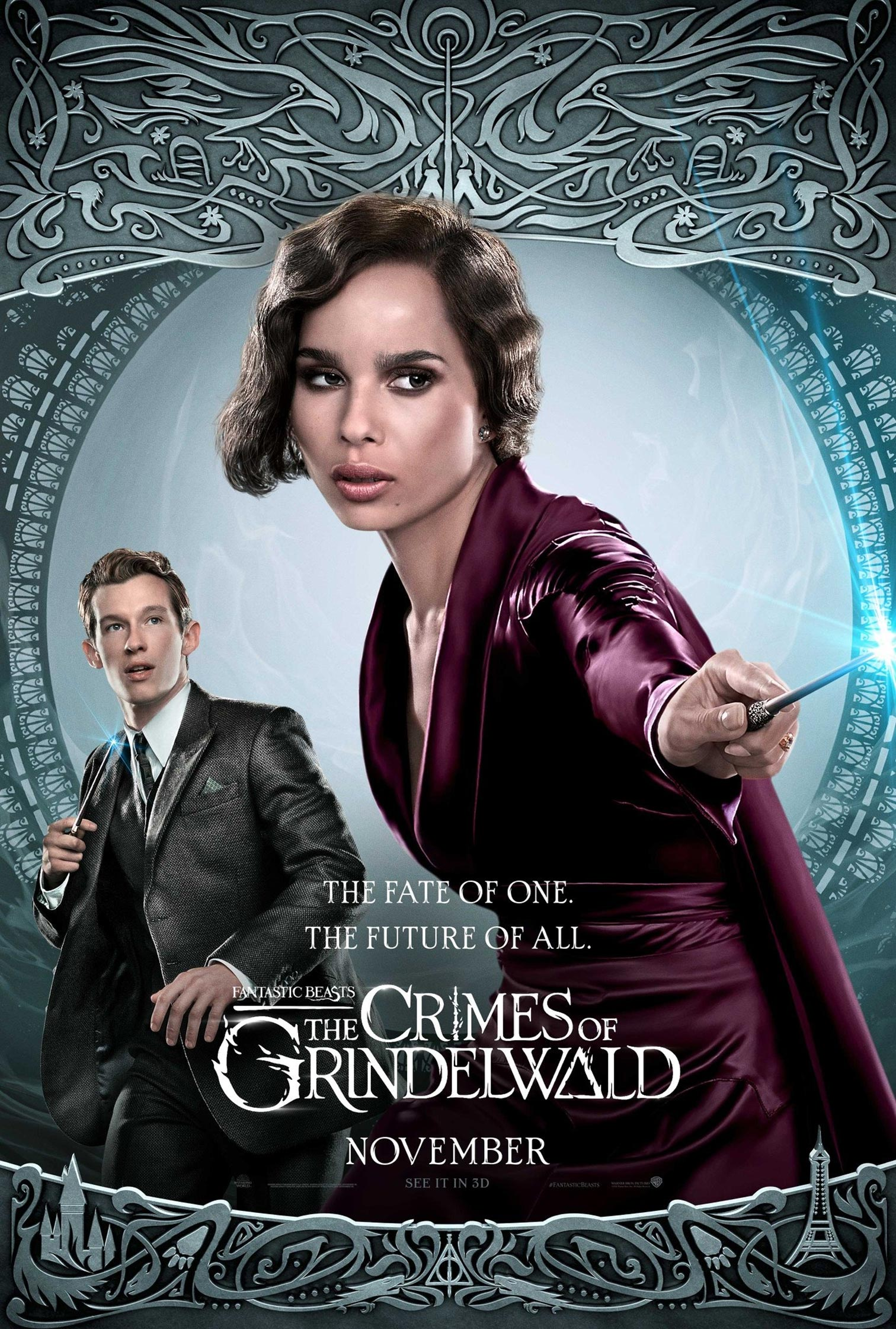 Fantastic Beasts: The Crimes of Grindelwald Poster #18