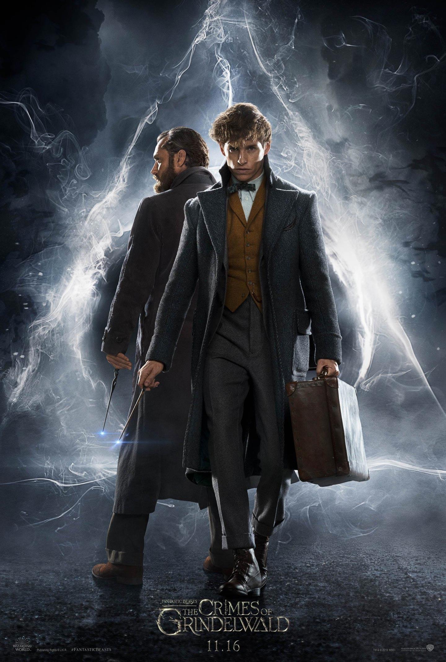Fantastic Beasts: The Crimes of Grindelwald Poster #2