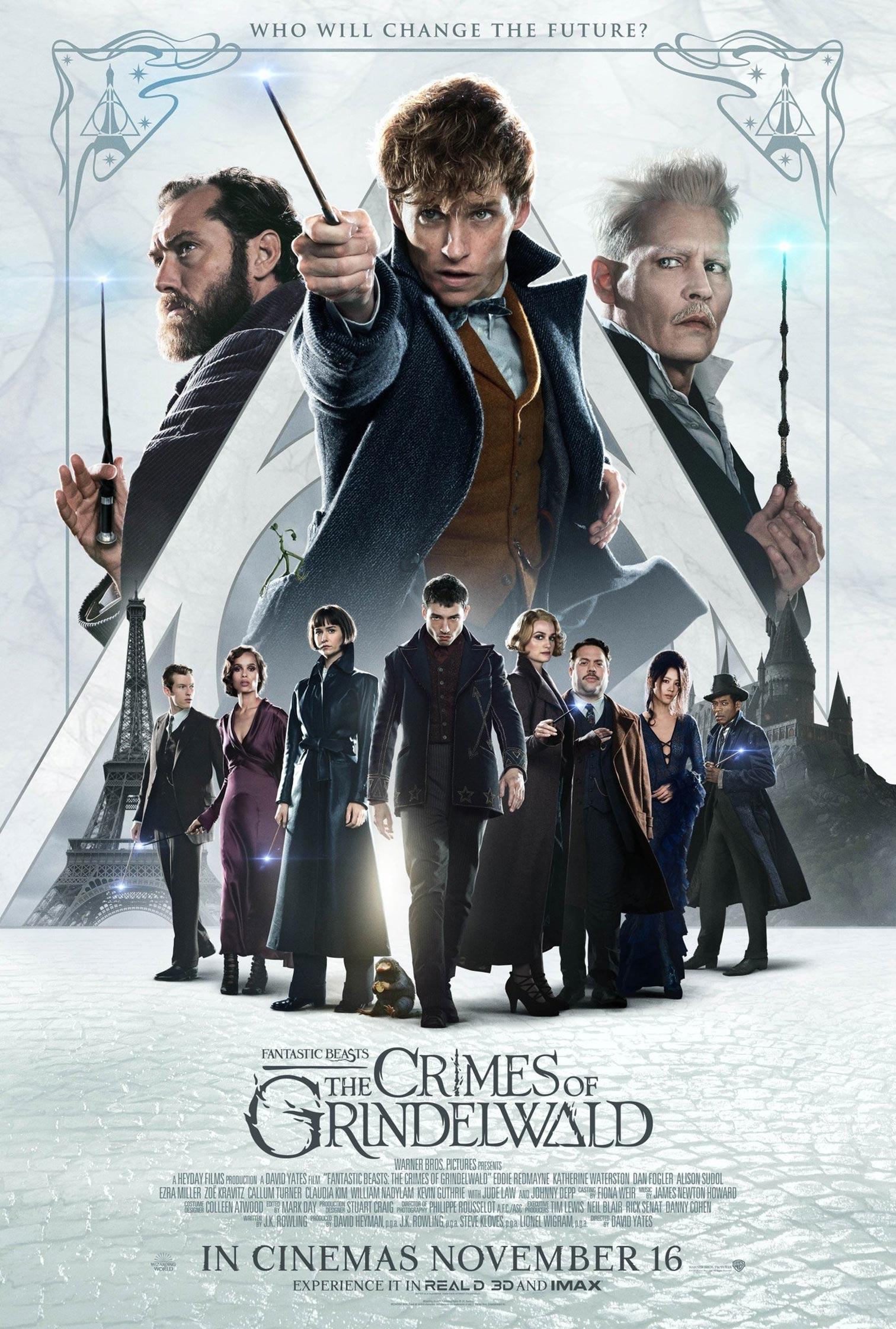 Fantastic Beasts: The Crimes of Grindelwald Poster #20