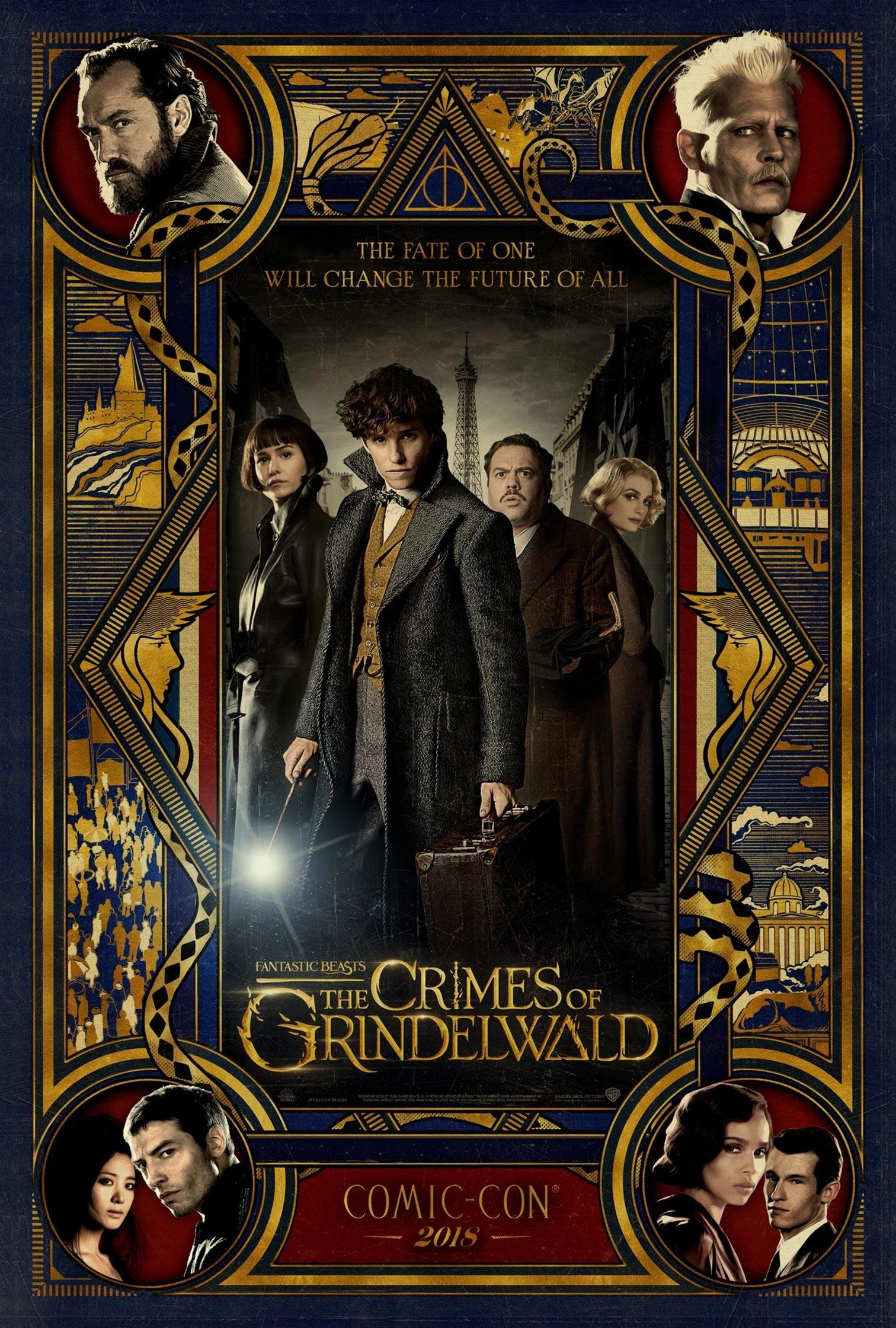 Fantastic Beasts: The Crimes of Grindelwald Poster #3