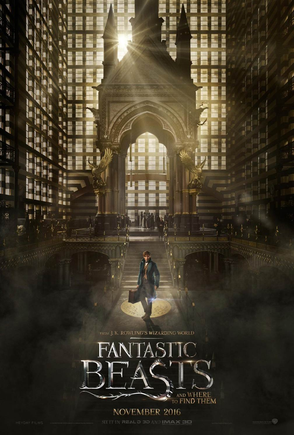 Fantastic Beasts and Where to Find Them Poster #2