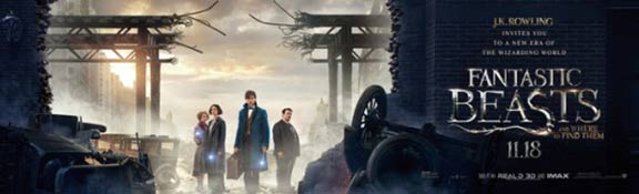 Fantastic Beasts and Where to Find Them Poster #20