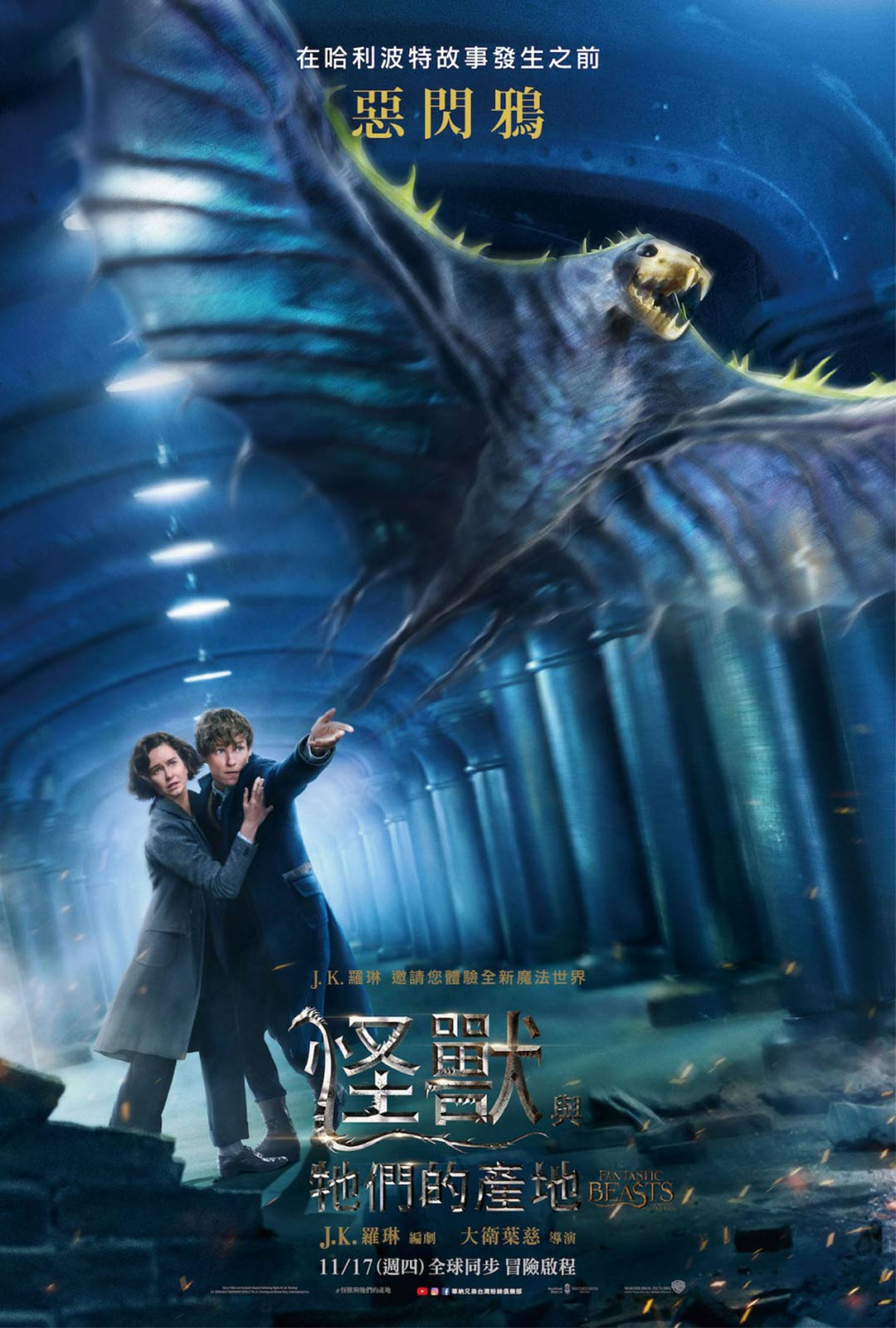 Fantastic Beasts and Where to Find Them Poster #22