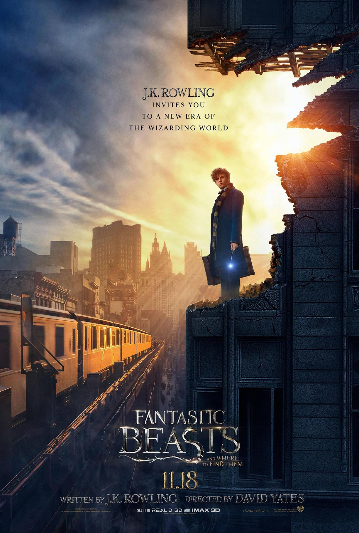 Fantastic Beasts and Where to Find Them Poster #3