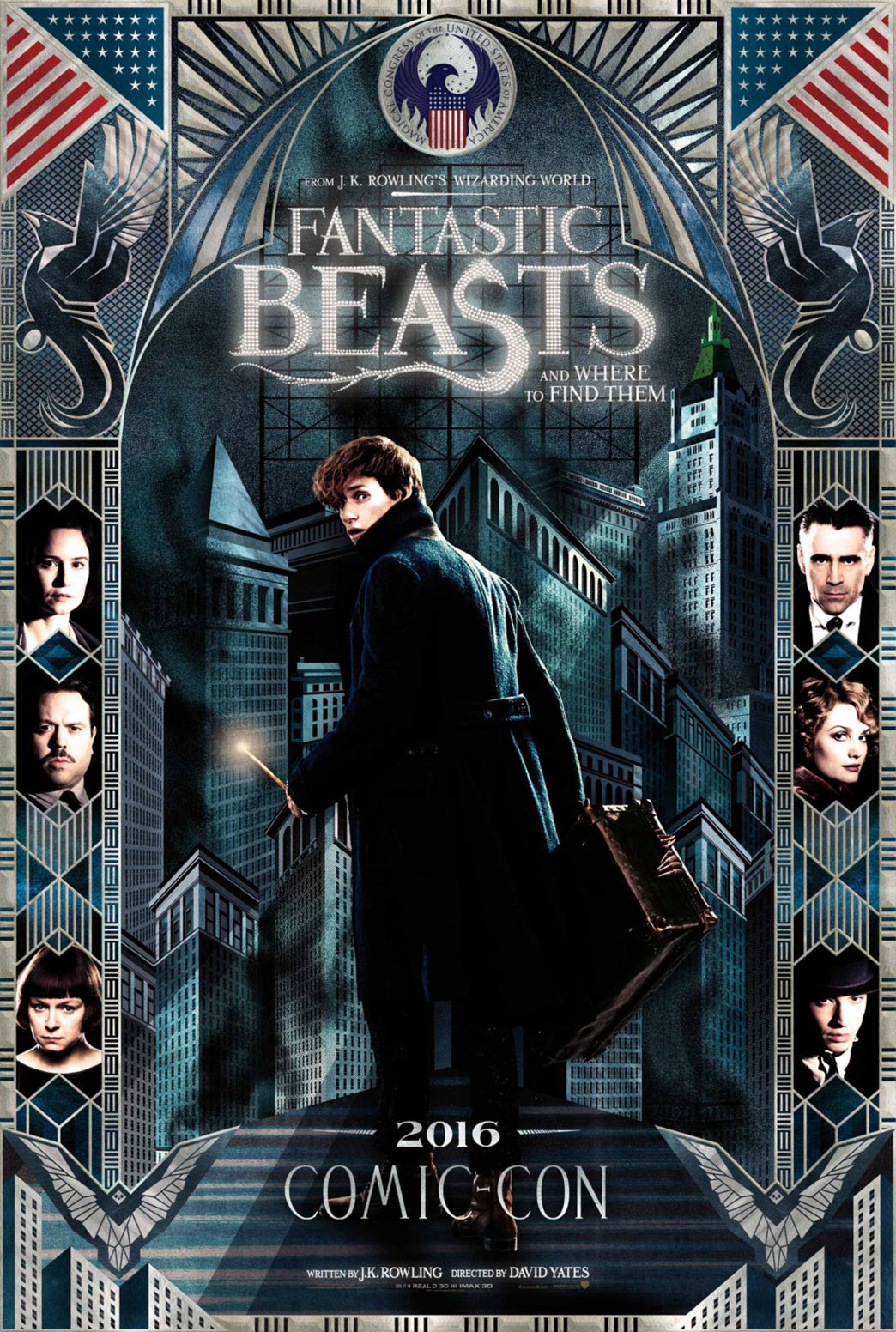 Fantastic Beasts and Where to Find Them Poster #4