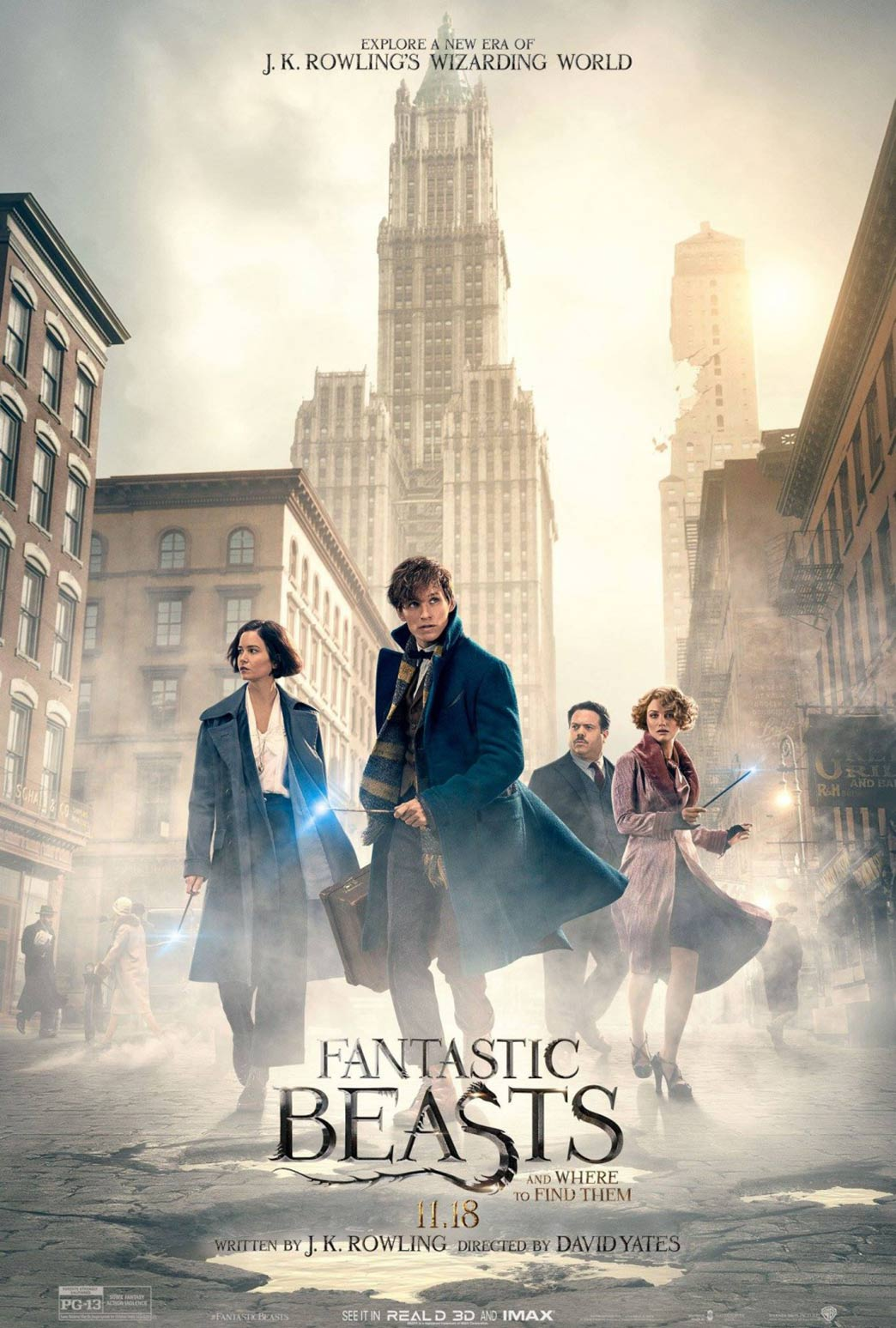 Fantastic Beasts and Where to Find Them Poster #5