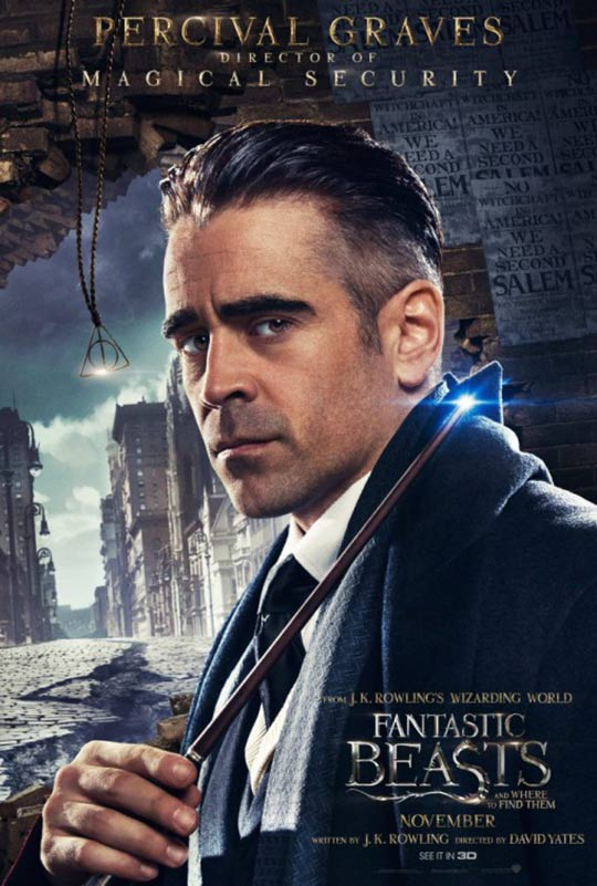 Fantastic Beasts and Where to Find Them Poster #8