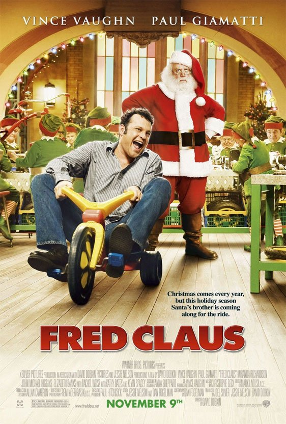 Fred Claus Poster #2