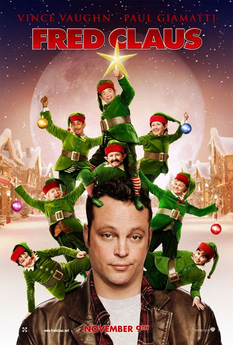 Fred Claus Poster #1