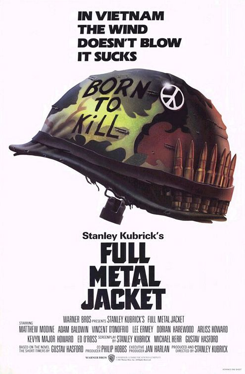 Full Metal Jacket Poster #1