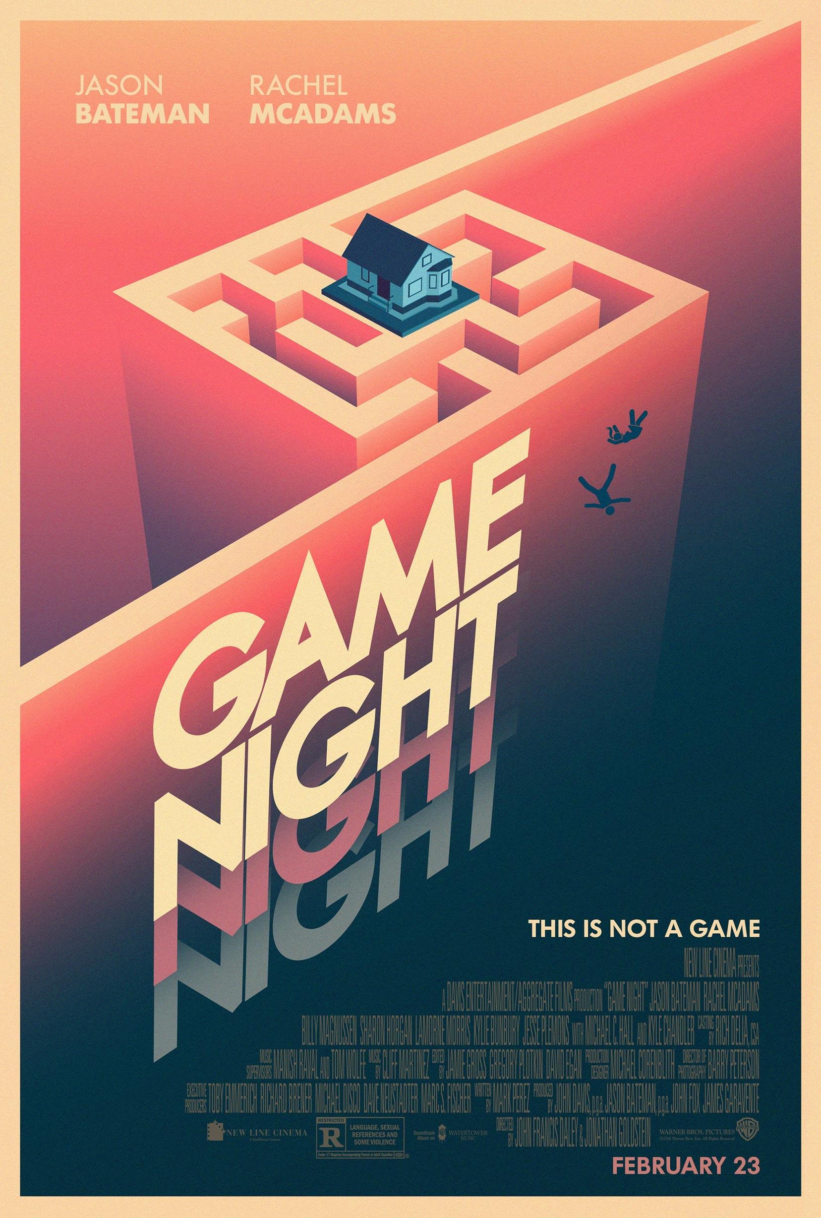 Game Night Poster #4