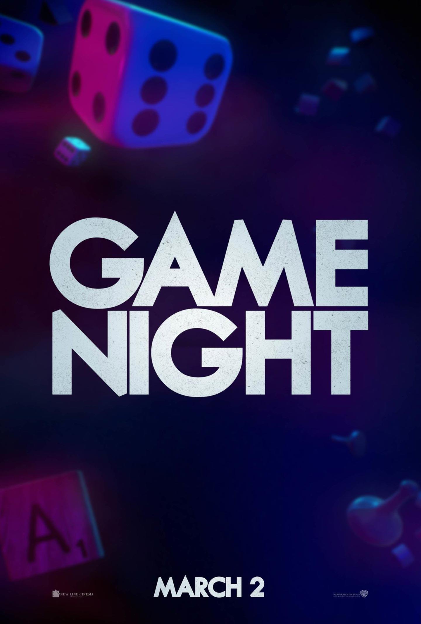 Game Night Poster #1