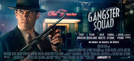 Gangster Squad Poster #11
