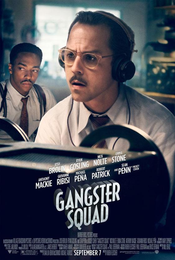 Gangster Squad Poster #3