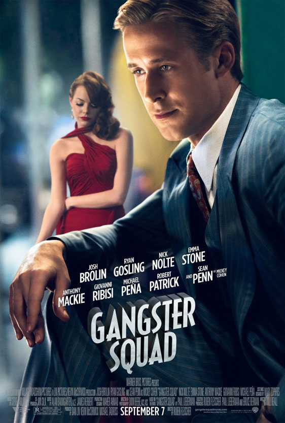 Gangster Squad Poster #7
