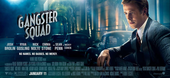 Gangster Squad Poster #8