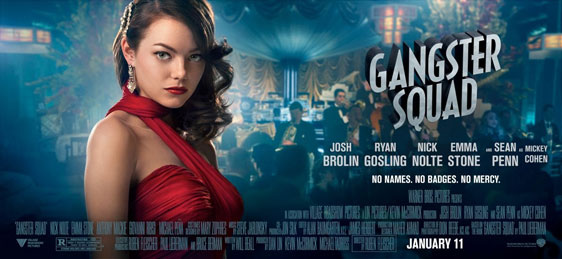 Gangster Squad Poster #9