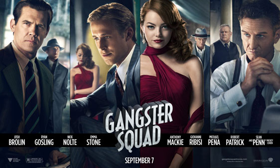 Gangster Squad Poster #1