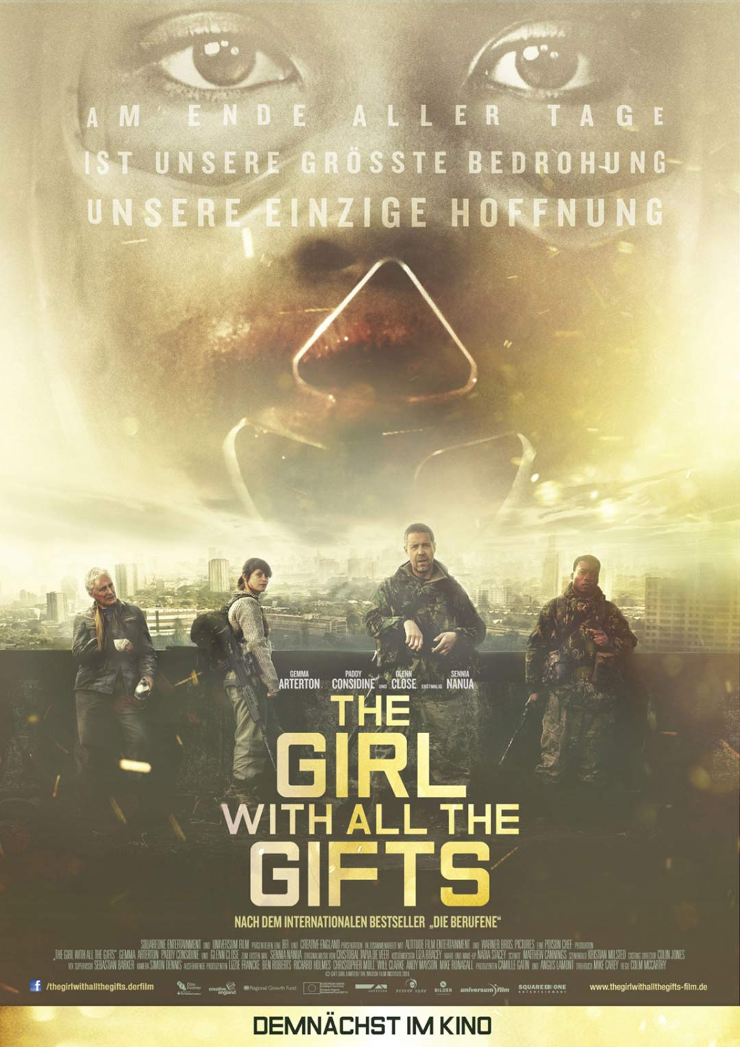 The Girl with All the Gifts Poster #2